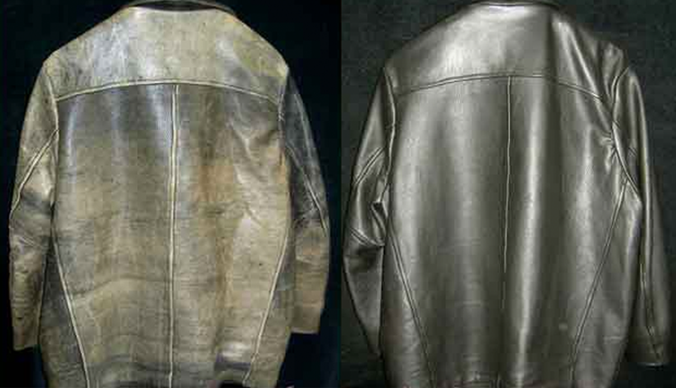 Jacket leather repair – Modern fashion jacket photo blog